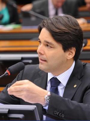 Deputado Felipe Maia (DEM-RN) em sessão (Foto: Lúcio Bernardo Jr/Agência-Câmara)