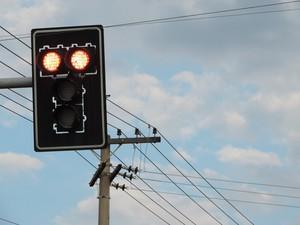 Em Presidente Prudente, média de seis motoristas avançam sinal vermelho por dia (Foto: Carolina Mescoloti/G1)