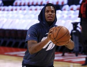 Kyle Lowry Toronto Raptors x Cleveland Cavaliers NBA (Foto: AFP)