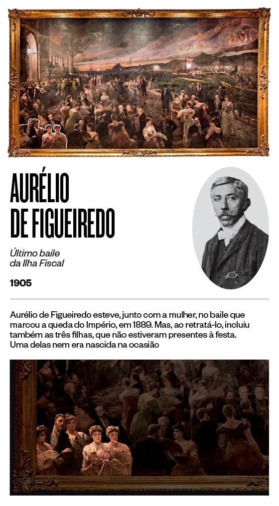 """""""Último baile da Ilha Fiscal"""" - 1905 - Aurélio de Figueiredo (Foto: Stefano Martini/ÉPOCA e reprodução)"""