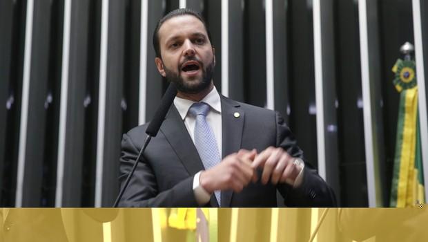 Dep. Alexandre Baldy (PTN/GO) em sessão especial na Câmara (Foto: Ananda Borges/ Câmara dos Deputados)
