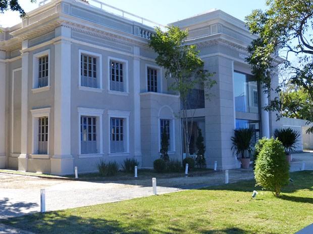Entrada principal do Hospital (Foto: Amor à Vida/TV Globo)
