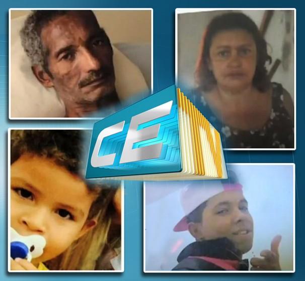 Participe da ação do CETV 1ª Edição para encontrar desaparecidos. (Foto: Divulgação/Sistema Verdes Mares)