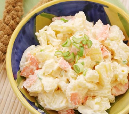 Salada de Batata com Vegetais
