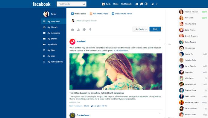 Flatbook teria mudado o nome após notificação do Facebook (Foto: Reprodução/Flatbook)