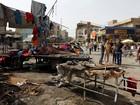 Atentados em praças deixam mortos no centro de Bagdá