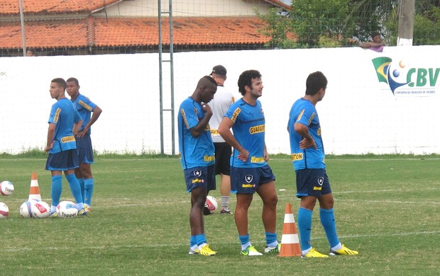 treino Botafogo (Foto: Thales Soares / Globoesporte.com)