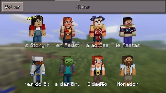 Como Baixar E Alterar Skins Em Minecraft Pocket Edition Dicas E - Baixar skins para minecraft de pc