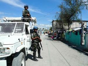 Brasil reduz tropas no Haiti e muda foco de missão (Foto: BBC)