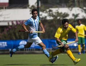 Brasil x Argentina hóquei na Grama Sul-Americano