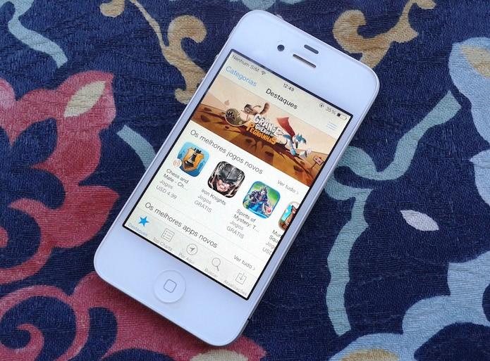 Veja como funciona a App Store do iOS e o que fazer para se cadastrar (Foto: Marvin Costa/TechTudo)
