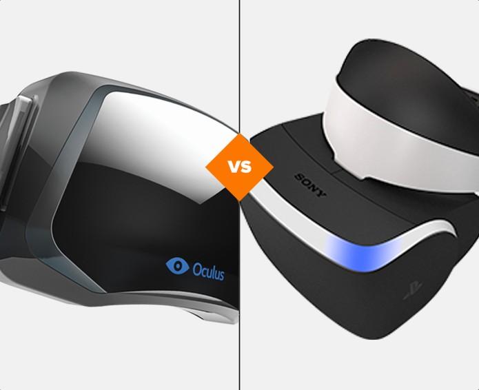 Oculus Rift ou Project Morpheus: qual protótipo vale a pena esperar? (Foto: Arte/TechTudo)