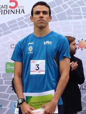 Wesley Matos, Cascais, triatlo, cearense (Foto: Divulgação)