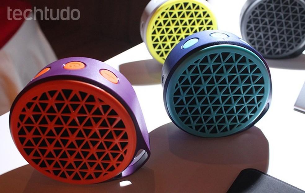 Logitech X50 possui diferentes cores  (Foto:  Leonardo Avila/TechTudo)