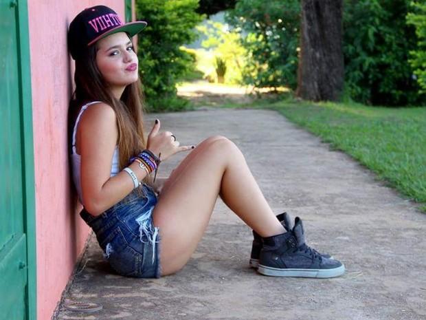 Youtuber de Sorocaba tem legião de fãs adolescentes (Foto: Arquivo Pessoal/Vitória Moraes)