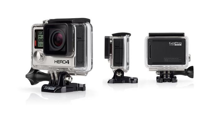 Modelo Black da GoPro HERO4 faz filmes com qualidade de cinema (Foto: Divulgação)