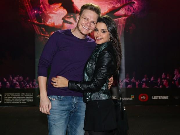 Thais Fersoza e Michel Teló em espetáculo em São Paulo (Foto: Manuela Scarpa/ Foto Rio News)
