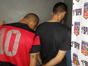Suspeitos já foram condenados por roubo (Foto: Toni Francis/G1)