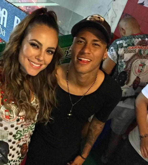 Paolla Oliveira e Neymar (Foto: Reprodução/ Instagram)