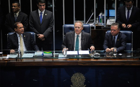 Renan Calheiros  (Foto: Geraldo Magela/Agência Senado)