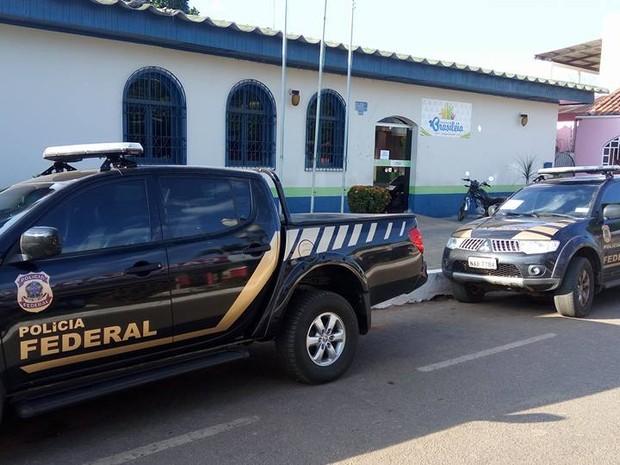 Operação da Polícia Federal em Brasiléia, no Acre (Foto: Alexandre Lima/Arquivo Pessoal)