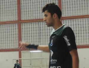 Luizinho Futsal Suzano (Foto: Thiago Fidelix / Globoesporte.com)