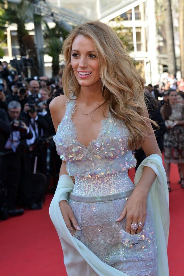 Blake Lively no Festival de Cannes 2014 (Foto: AFP)