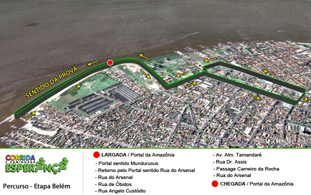 Corrida Esperança - Belém (Foto: Ascom / Corrida Esperança)