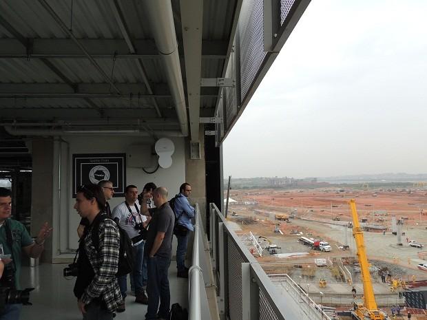 Área permite que fotógrafos captem imagens da pista de voo. (Foto: Divulgação/GRU Airport)
