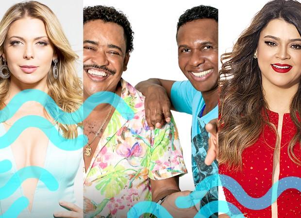o Tchan, Scheila Mello e Preta Gil participam do TVZ Vero (Foto: Divulgao/Multishow)