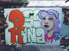 Graffiti reúne mulheres em festival de intervenções urbanas em Vitória