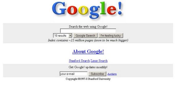 Google marcou os anos 90 (Foto: Reprodução/Smashing Apps)