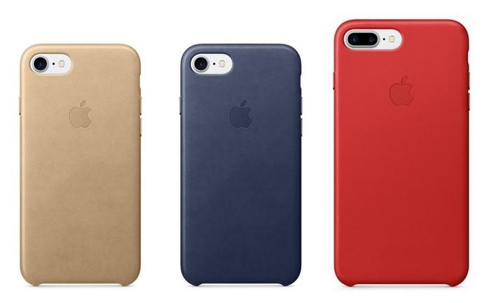 Capa de couro para iPhone 7 e iPhone 7 Plus oficial (Foto: Divulgação/Apple)