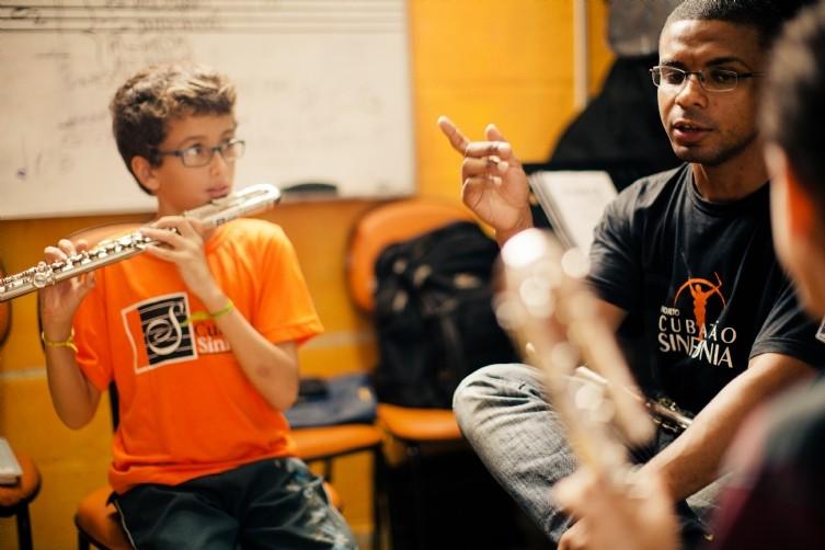 Programa Sinfonia Cubatão (Foto:  Ian Lopes - reprodução)
