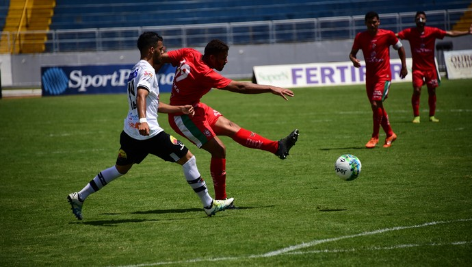 Genesis atacante Boa Esporte (Foto: Chiarini Jr.)