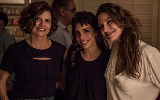 Débora Bloch, Maria Ribeiro e Lavínia Vlasak (Foto: Reprodução/Instagram)