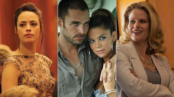 Cenas de 'O Último Diamante', 'Guerra do Tráfico' e 'Salvem Minha Filha!', filmes nunca vistos no Brasil (Foto: Divulgação)