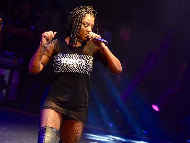 Ludmilla em show em Salvador, na Bahia (Foto: André Carvalho/ Ag. Haack)