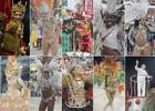 Imperadores do Samba vence carnaval de Porto Alegre (Montagem sobre fotos/Evandro Oliveira, Luiza Carneiro e Rafaella Fraga/Divulgação PMPA/G1)