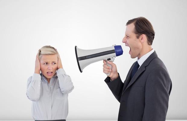 Chefe; Assédio; Stress; Irritado; Irritação; Pressão; Carreira; Cobrança; Chato;  (Foto: ThinkStock )