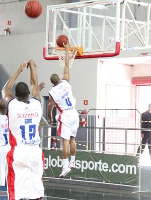 Jefferson Suzano Basquete NBB (Foto: Thiago Fidelix / Globoesporte.com)