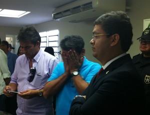 Amadeu Rodrigues, Federação Paraibana de Futebol, FPF, resultado, eleição (Foto: Pedro Alves / GloboEsporte.com/pb)