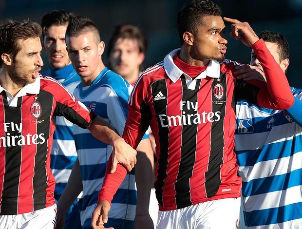 Kevin-Prince Boateng deixa amistoso do Milan após provocações racistas (Foto: AP)