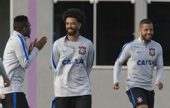 Com 45 minutos no ano, Cristian é ponto de partida de novo Corinthians