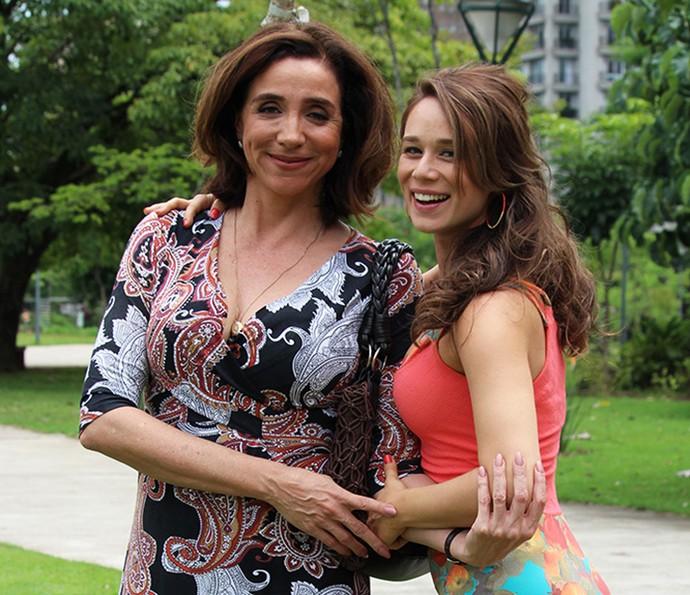 Marisa Orth e Mariana Ximenes serão mãe e filha, Francesca e Tancinha, em Haja Coração (Foto: Ariane Ducati/Gshow)