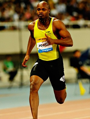 asafa powell   Xangai atletismo (Foto: AFP)