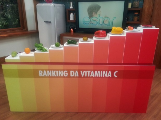 Ranking mostra os alimentos que têm mais vitamina C (Foto: Mariana Palma/G1)