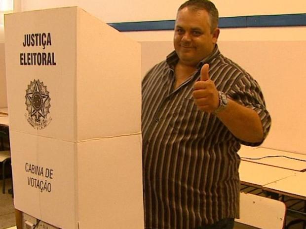 Edinho Raminelli é eleito à Prefeitura pelo PT em Boa Esperança do Sul (Foto: Marlon Tavoni / EPTV)