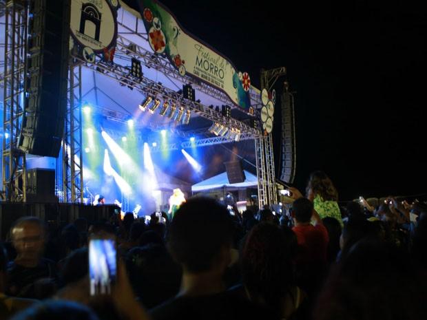 Festival gratuito reuniu artistas como Zeca Baleiro e Maria Rita. (Foto: Rennan Calixto/ GOVBA)