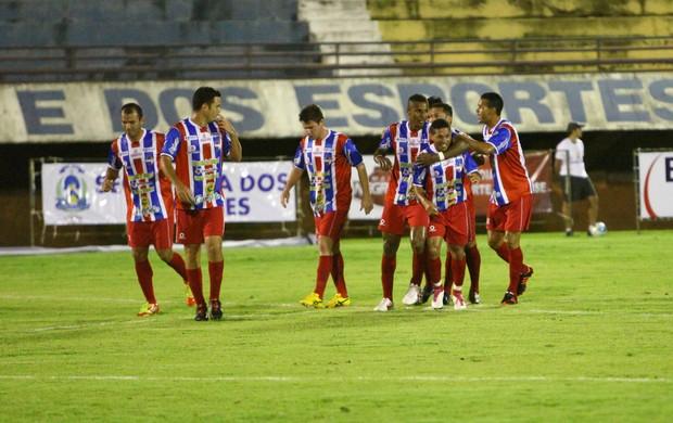 O Araguaína disputou o Tocantinense deste ano, mas foi rebaixado (Foto: Marcelo de Deus/Jornal do Tocantins)
